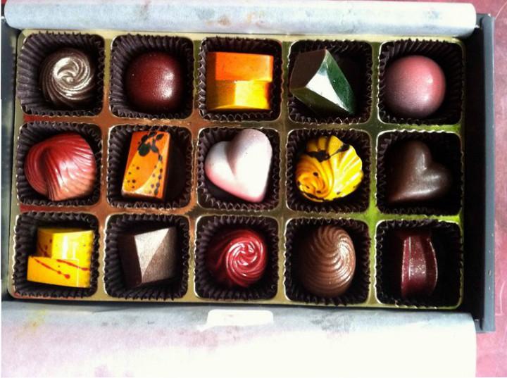 Chocalatier blue SF chocolate